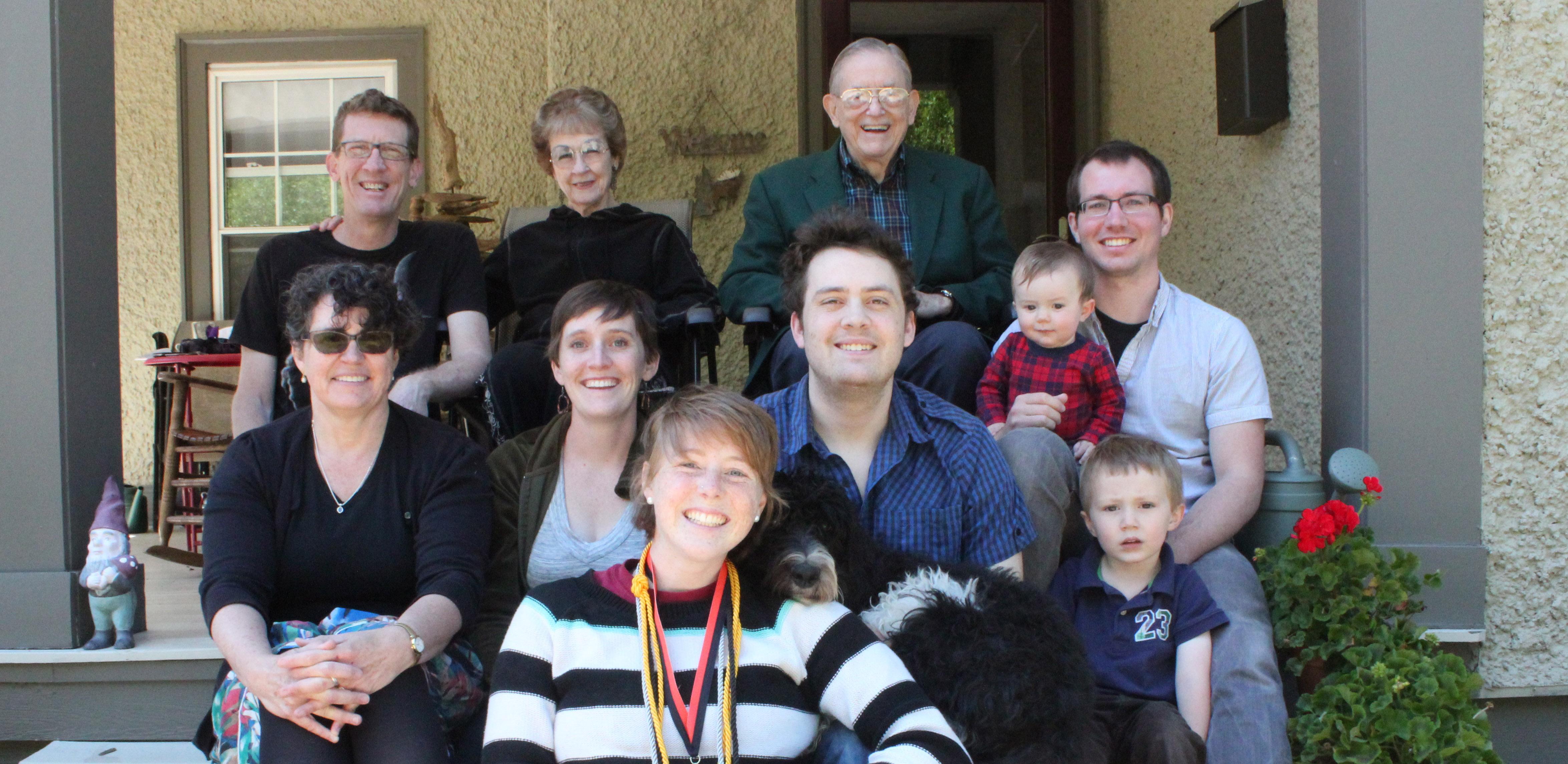 Jim Biard and family