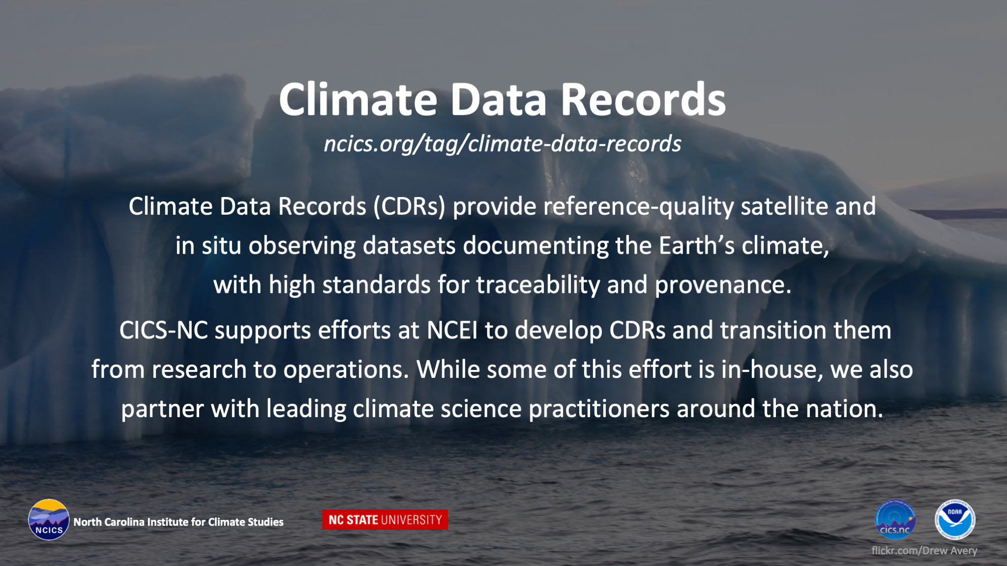 Climate Data Records