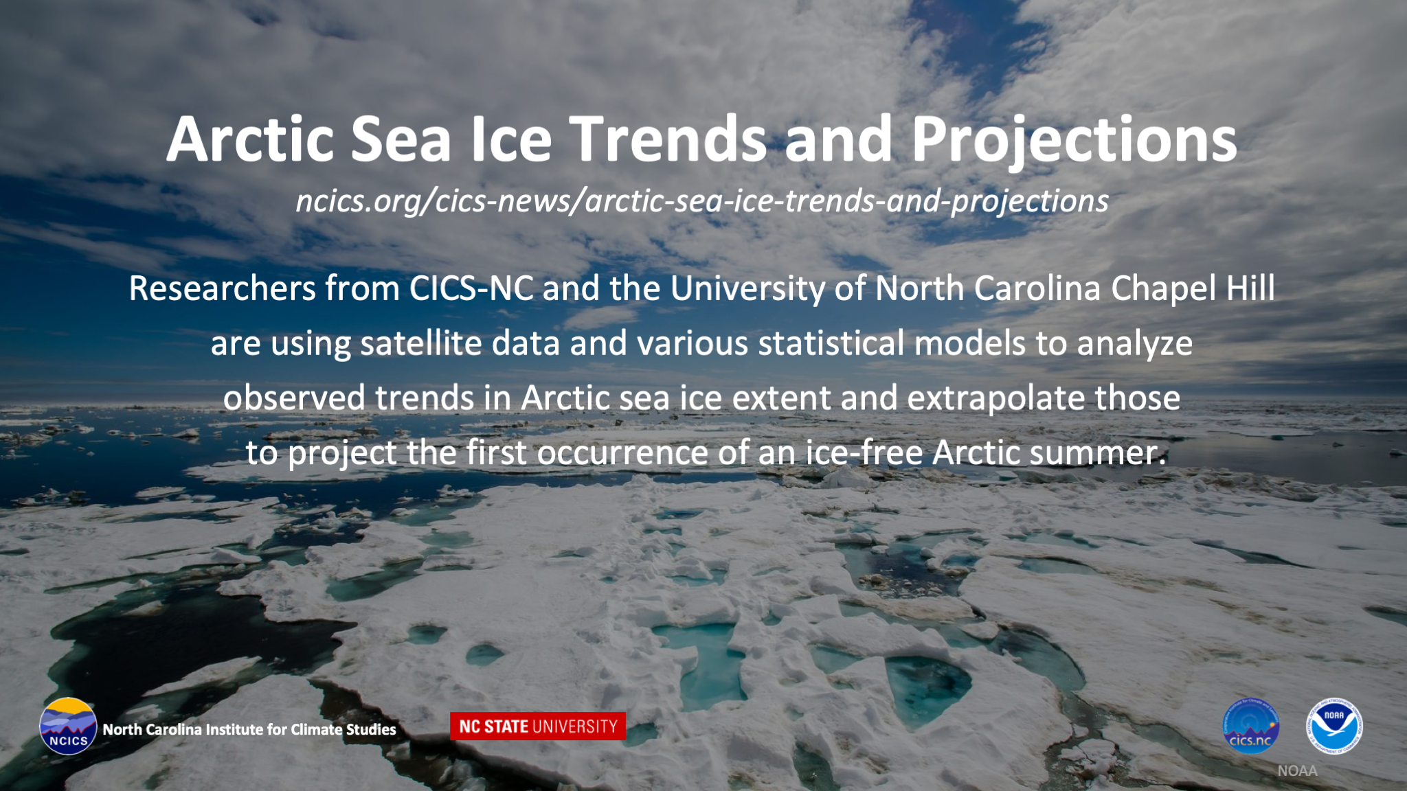 Artic Sea Ice Trends and Projections