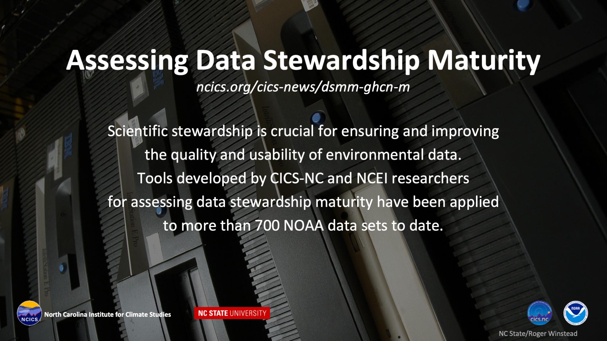 Assessing Data Stewardship Maturity