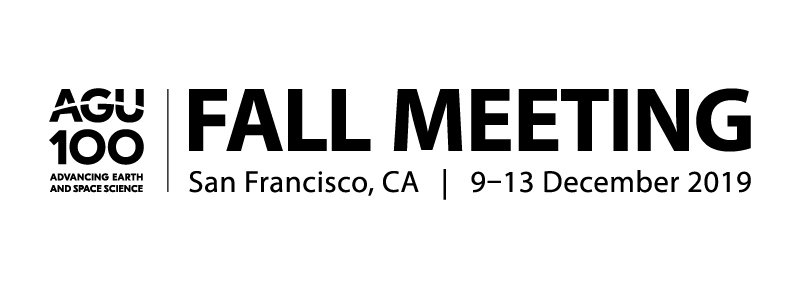 Logo for the American Geophysical Union 2019 Fall Meeting