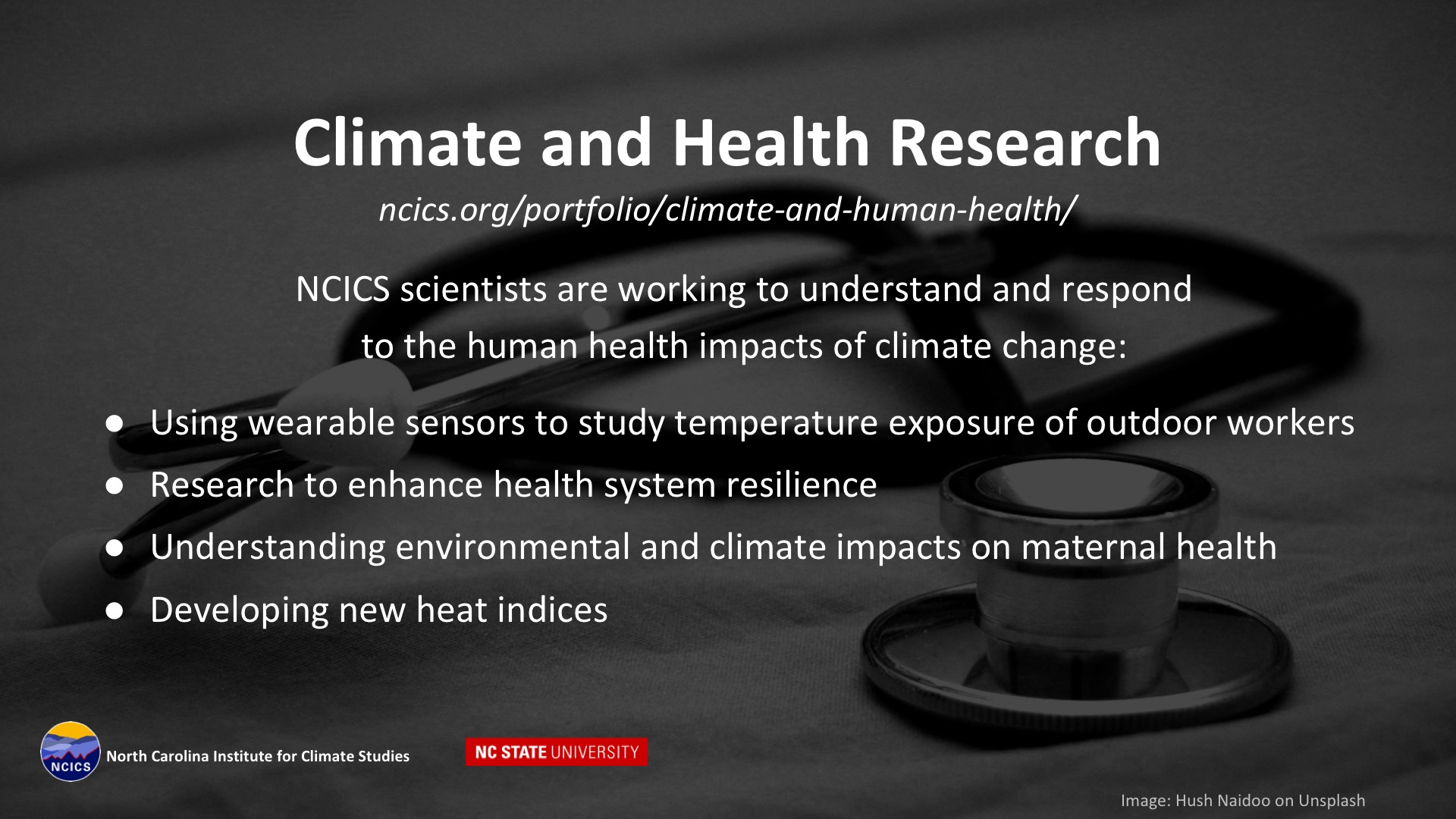 Climate and Health Research