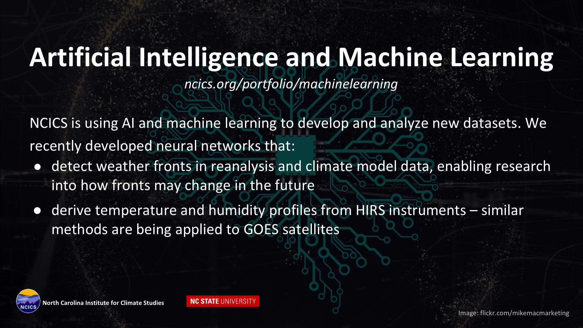 Artificial   Intelligence/Machine Learning