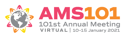 Logo for the 2021 American Meteorological Society Annual Meeting